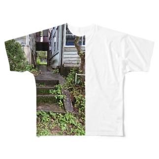 廃校 Full graphic T-shirts