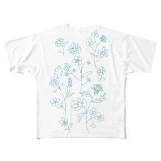 はなのモチーフ Full graphic T-shirts