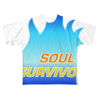 The Soul Survivors Soul & Fire Full graphic T-shirts