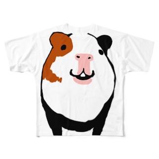 モルモットモリー(フルサイズ) All-Over Print T-Shirt