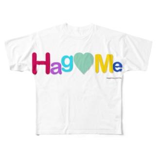Hag♡Meシリーズ Full graphic T-shirts