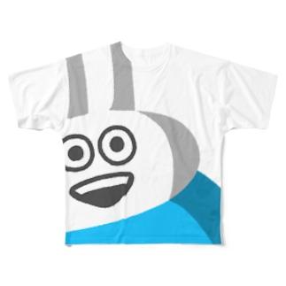 ウザギさん Full graphic T-shirts