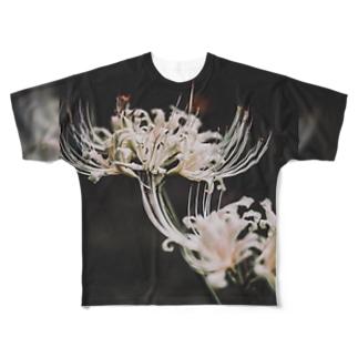 【花途夢】リコリス Full graphic T-shirts
