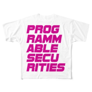 Programmable Securities Tシャツ (マゼンタ) Full graphic T-shirts