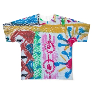 105colorful Full graphic T-shirts
