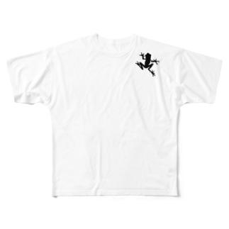 FROG(肩) Full graphic T-shirts
