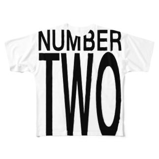 Number Two Full graphic T-shirts