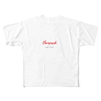 チャンパーサック Full graphic T-shirts