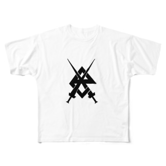 X e-sports  Full graphic T-shirts