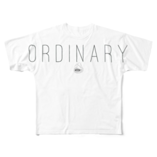 ORDINARY. Full graphic T-shirts