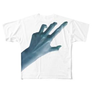 ひとりが寂しい夜に Full graphic T-shirts