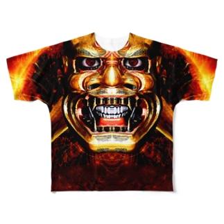輝 Full graphic T-shirts