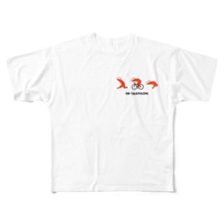 エビトライアスロン Full graphic T-shirts