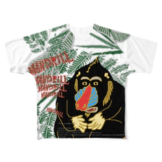 【MANDRILL】 Full graphic T-shirts