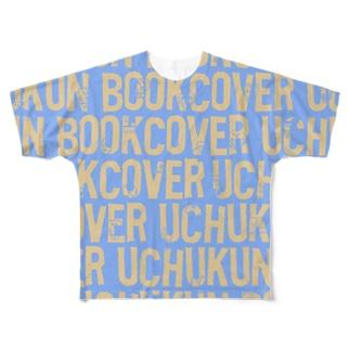 FONTdeかくれんぼ Full graphic T-shirts
