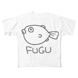 FUGU Full graphic T-shirts