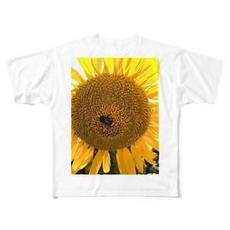 ハナとハチ Full graphic T-shirts