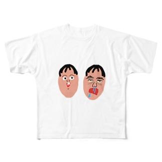 社蓄くん Full graphic T-shirts