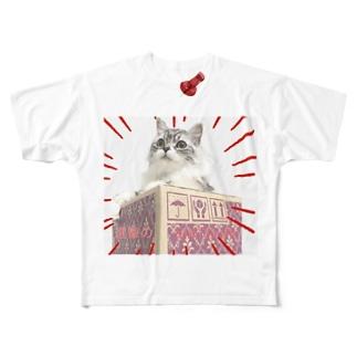 進撃のMATSURI Full graphic T-shirts