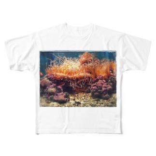 SANGOSHO Full graphic T-shirts