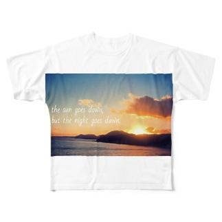 Twilight Sea Full graphic T-shirts