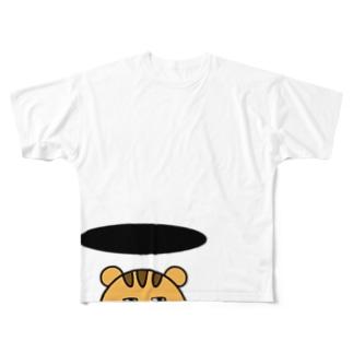 とじこもる  りすさん Full graphic T-shirts