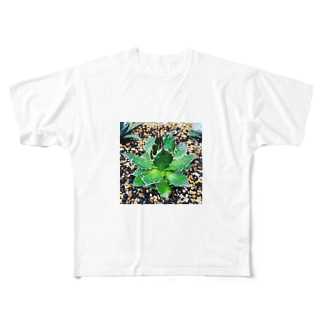 アガベのホリダ君 Full graphic T-shirts