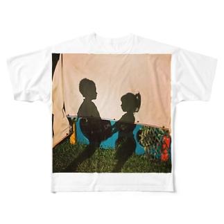 childhood friend Full graphic T-shirts