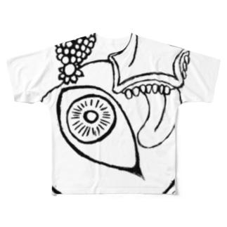 アバンギャルド Full graphic T-shirts