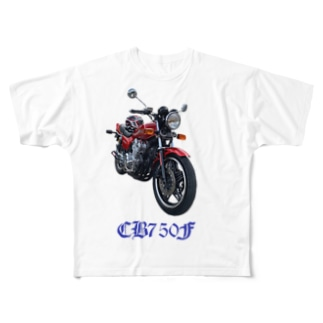 CB750F Full graphic T-shirts