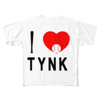 l Love ToYoNaKa Full graphic T-shirts