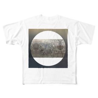 飯野 美穂 / miho iinoの強く地を蹴る Full graphic T-shirts