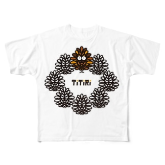 妖精TiTiRi(Tシャツ) Full graphic T-shirts