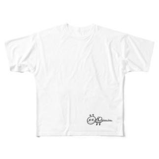 Honey Bee Full graphic T-shirts