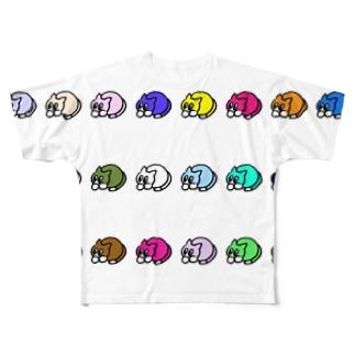 NECO. カラフル Full graphic T-shirts