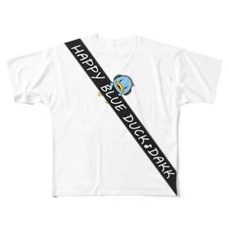 シートベルトDAKK Full graphic T-shirts