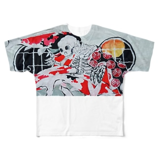 髑髏 Full graphic T-shirts