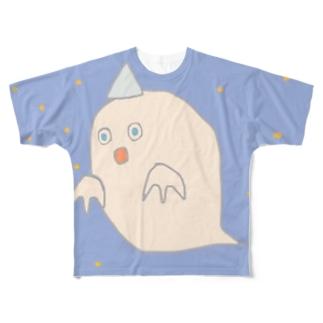 ホーリーおばけナイト Full graphic T-shirts