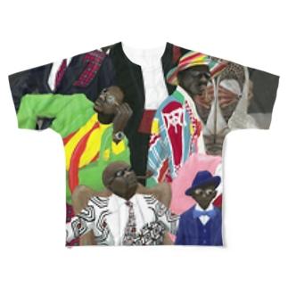 コンゴ/サプール Full graphic T-shirts