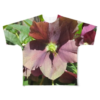 密やかに・楚々と Full graphic T-shirts