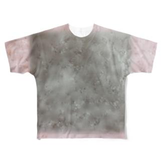 ぼかしティーシャツ Full graphic T-shirts