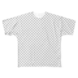 わかる人にはわかる透明Tシャツ Full graphic T-shirts