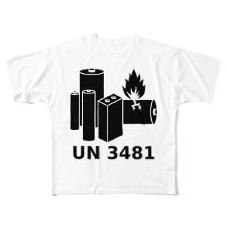 UN3481 Full graphic T-shirts