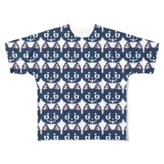 【揮発する酒場】過度なKado Full graphic T-shirts