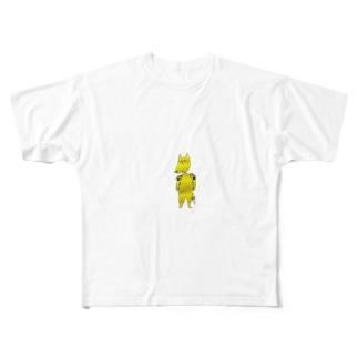 肩コルネ Full graphic T-shirts