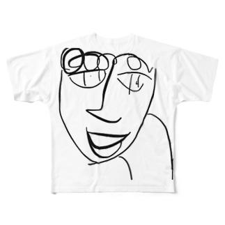 ほんなら!山田くん! Full graphic T-shirts