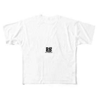 RedShoulderロゴ Full graphic T-shirts