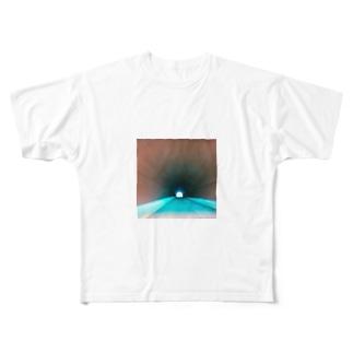 タイムスリップ Full graphic T-shirts