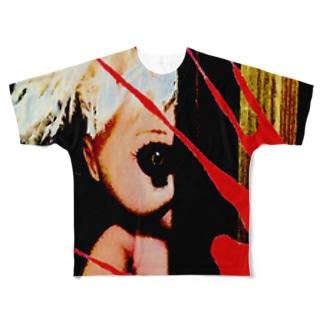 映画『コワレモノ』公式グッズ Full graphic T-shirts