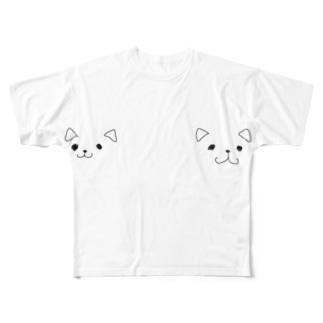ケルベロスT Full graphic T-shirts